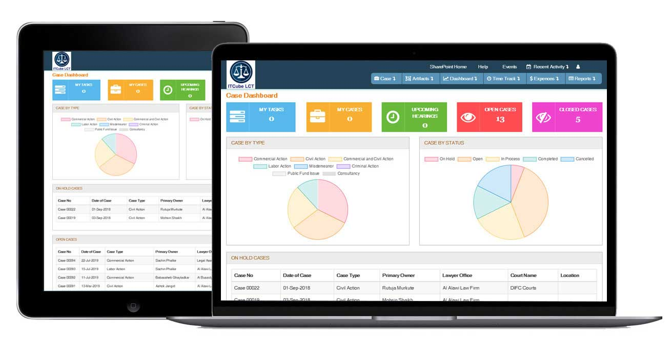 Legal case Tracker by ITCube