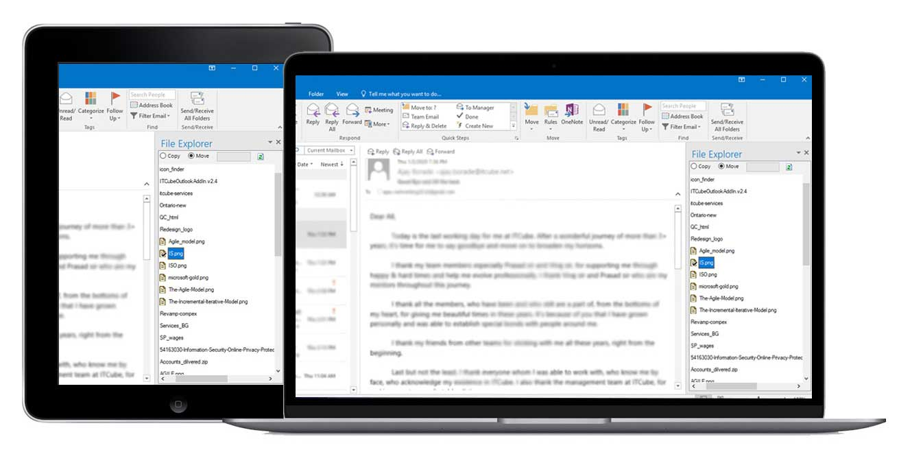 Outlook Plug-in by ITCube
