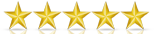 ITCube's 5-star rating on Clutch, a market research and comparison website